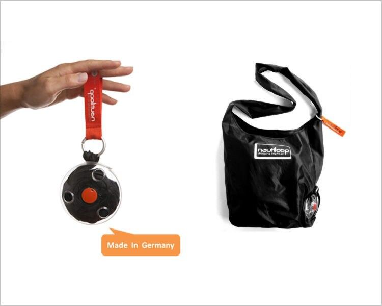 2017 Neue Design Nautiloop Magie Mini Einkaufen Gespeichert Und Gefaltet Tasche Einkaufstasche