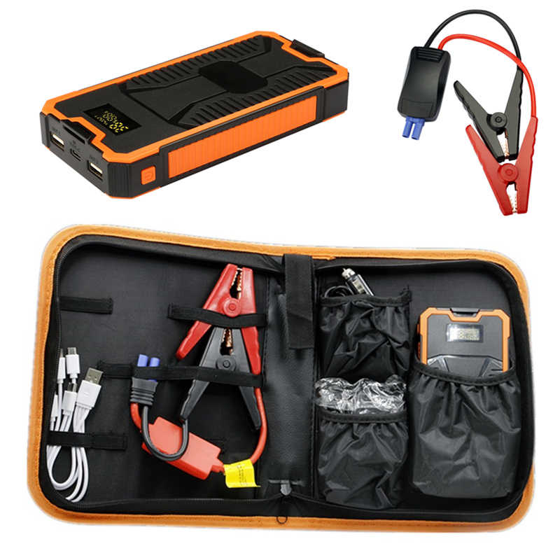Super Power Car Jump Starter Power Bank 11000 Portable Car Battery Booster Charger 12V Starting Device Petrol Diesel Car Starter practical 89800mah 12v 4usb car battery charger starting car jump starter booster power bank tool kit for auto starting device