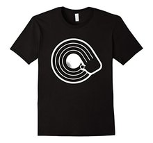 New DJ hand on Vinyl Record men's T-shirt
