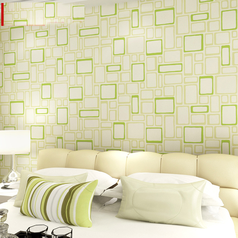 Rubric geometry plaid abstract wallpaper Rolls for Living Room tv background wall paper 3d Wallcoverings papel de parede