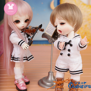 Image 4 - Doll BJD Clothes 1/8 Loveliness Jumpsuits Dress For Lati Yosd Body YF8 to 188 Doll Accessories