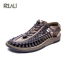 polali 2017 New arrived summer sandals men shoes quality comfortable men sandals fashion design casual men sandals shoes