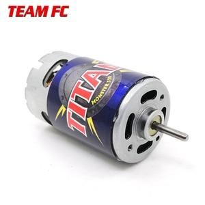 Image 5 - Motor Titan de 21 vueltas, 3975 21T, 550 voltios, refrigerado por ventilador hacia adelante y hacia atrás para camión monstruo e revo e maxx 14,4, F128 para TRX4 S245, 1/10