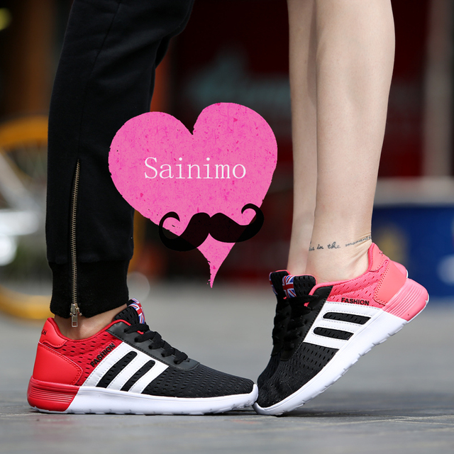 Sainimo Summer mesh explosion lover shoes men sneakers men casual shoes men tenis masculino chaussure homme zapatillas hombre