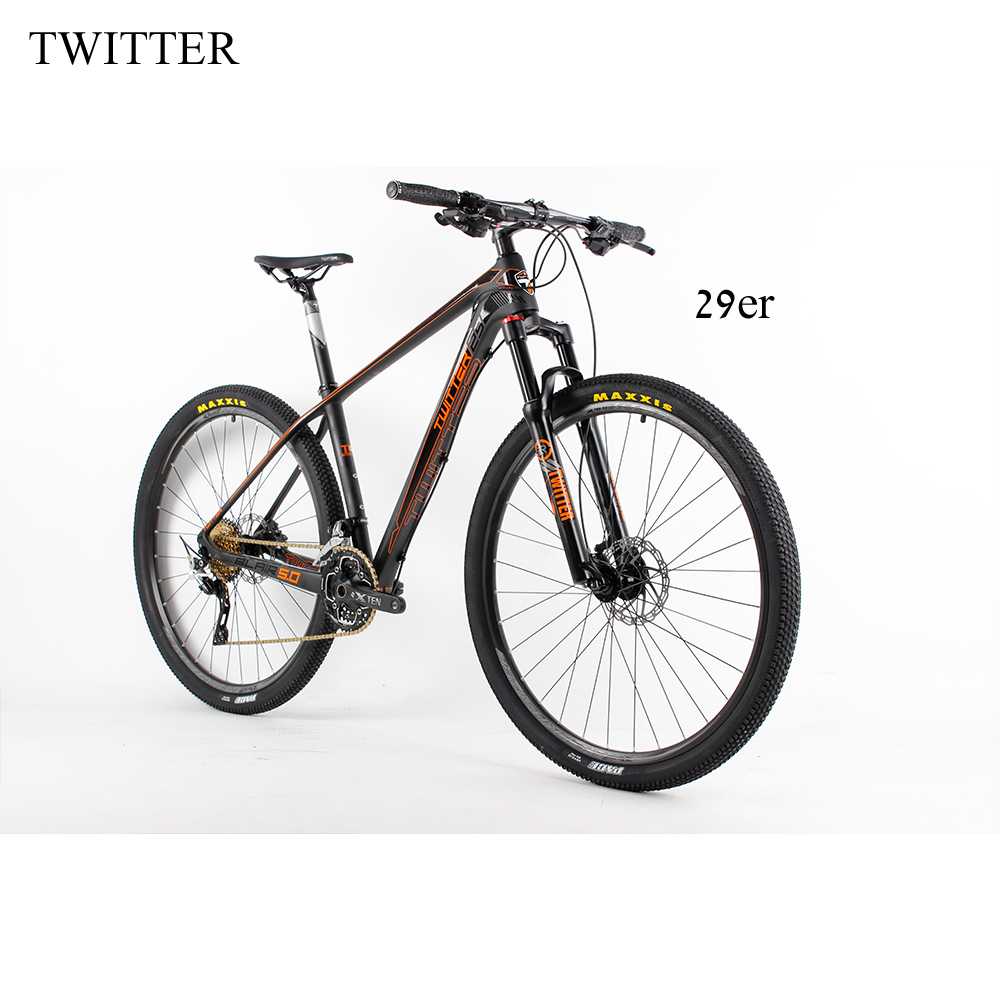 NEW Light Complete 29er mountain bike Carbon Frame Full Mountain Bike 15.5'' 17.5''19 fiets carbon 29er Mountain Bicycle 29 аксессуар inova sts bike hlsba 19 r7 light orange