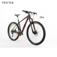 Complete MTB Bicycle Carbon Frame Full Carbon 29er Mountain Complete Bike 15 5 17 5 19