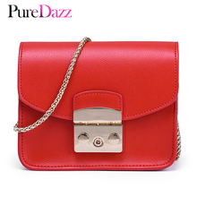 Brand Design Genuine Female Shoulder Bag Real Leather Flap Bag Women Messenger Bag Crossbody Bag With Gold Chain цена в Москве и Питере