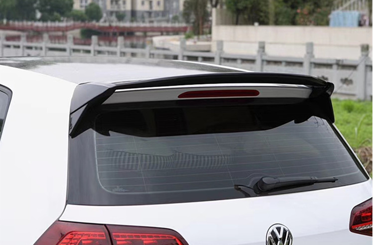 for <font><b>Volkswagen</b></font> <font><b>Golf</b></font> 7 <font><b>MK7</b></font> 7.5 <font><b>Spoiler</b></font> AC style high quality ABS material rear window roof wing Primer paint color 2013- 2019 image