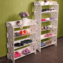 Continental carved white shoe dust simple rack multilayer living room bedroom storage Specials