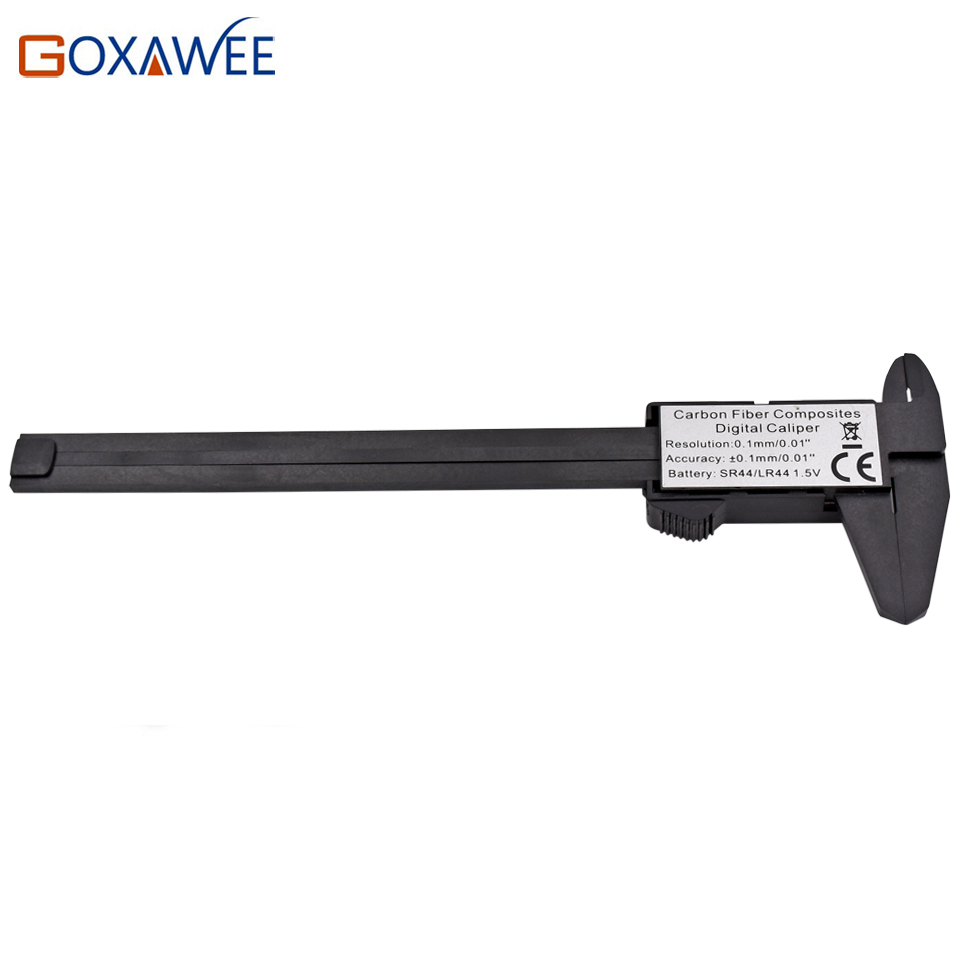 GOXAWEE 150mm 6-tolline digitaalne elektrooniline süsinikkiust - Mõõtevahendid - Foto 3