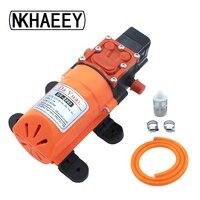 DY 2203 Intelligent pressure switch 12v DC electric sprayer motor motor self priming diaphragm car wash pump
