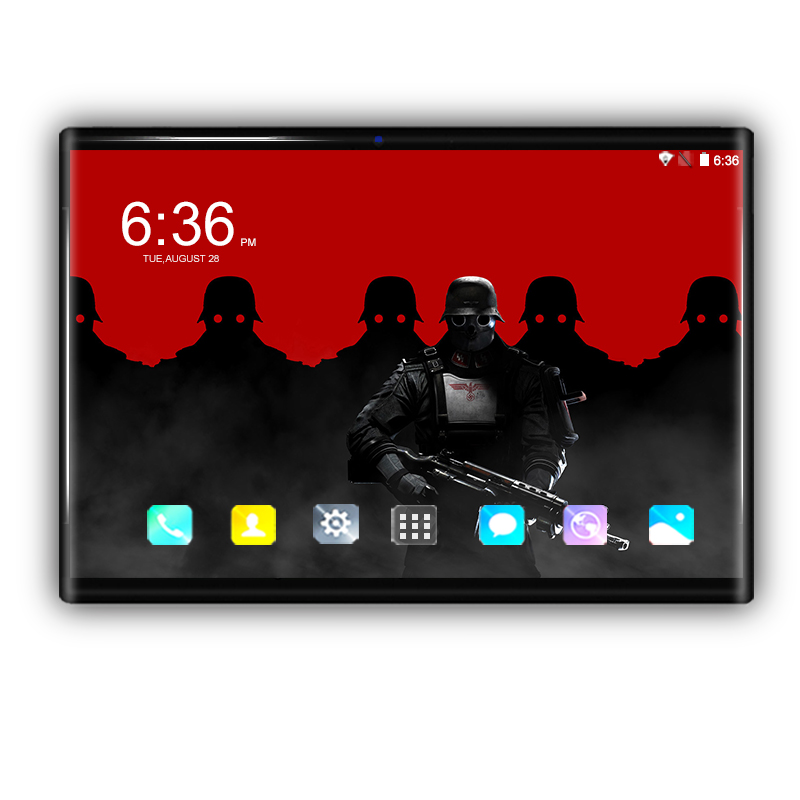 Hot 10.1 Inch Tablets Android 8.0 Octa Core 6GB+64GB 1280*800 IPS Dual Camera 8MP SIM 10