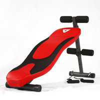 S curve supine platform fitness family versatile abdominal muscle board Sit Up Bench Abs Workout Equipment
