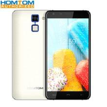 3000 mAh HOMTOM HT30 3G Téléphone 5.5 Pouce Android 6.0 MTK6580 Quad Core 1 GB RAM 8 GB ROM 2MP 5MP Caméra Scanner D'empreintes Digitales Téléphone