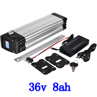 36V electric bicycle battery 36V li ion battery 36v 8ah ebike lithium battery for 8fun bbs01 36V 250W 350W 500W motor free tax