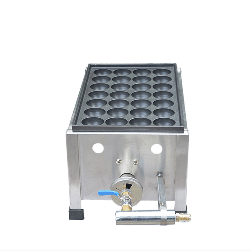 Non-Stick Commercial Japanese-style gas fish stove Takoyaki Maker Octopus Balls Machine 28 Holes Fish Ball Machine commercial use non stick lpg gas japanese tokoyaki octopus fish ball maker iron baker machine