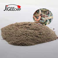 JIGEECARP 1Bag 30g 100% Live lugworm Flavor Powder Additive Carp Fishing Saltwater Fishing Feeder Bait Boillie Making Material