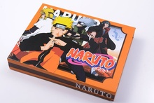 Naruto Weapons Swords Necklace Pendant Keychain 7pcs Set with Gift Box Collection