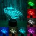 Декоративный осветительный кабель свеча подсвечник в форме 3D LED USB спальня ночник многоцветный Настольный Декор
