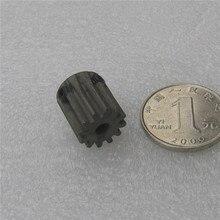 Spur Gear pinion 12T 12Teeth Mod 1 M=1 Width 8mm Bore 4mm 5mm 6mm 7mm Right Teeth A3 steel CNC gear rack transmission RC car