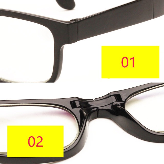 Unisex Vision Glasses Magnifier Magnifying Eyewear Reading Glasses 3