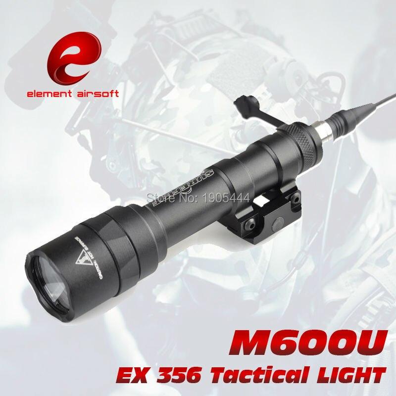 ФОТО EX 356 Element SF M600U Scout light LED Weapon light Full Version tactical light