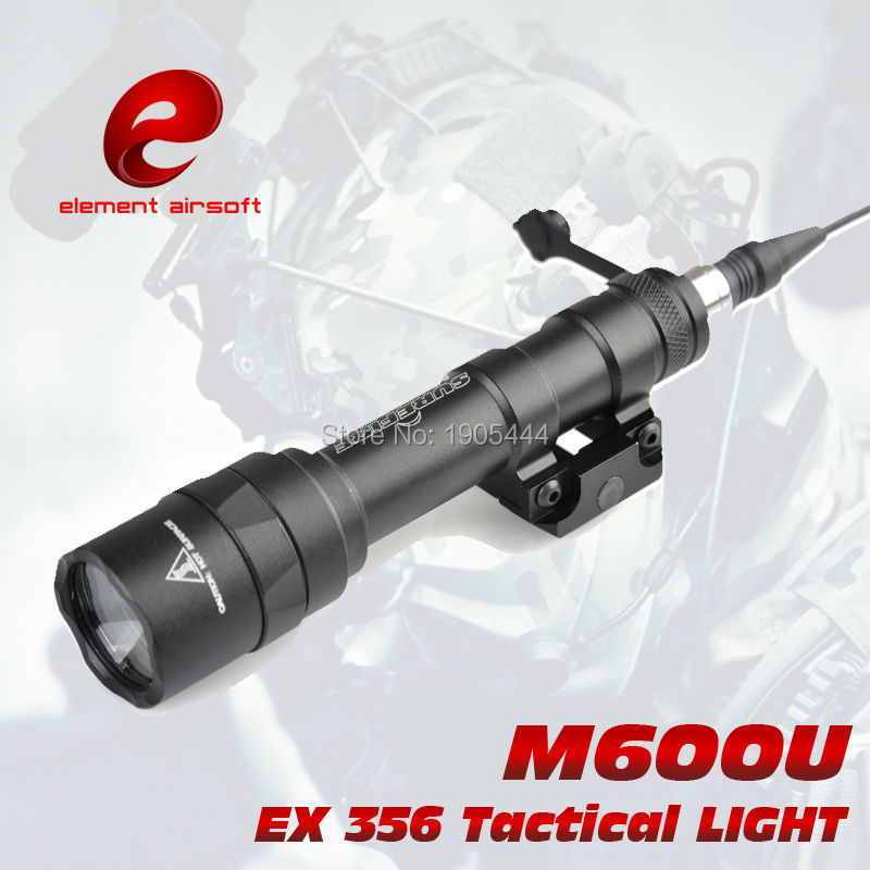 Element SF M600U Scout light LED 500 Lumens CREE LED XP-G R5 Pistol Full Version Gun Waterproof Torch Hunting Weapon light new flower girl dress white ball gown kids pageant dress wedding appliques girls party dress birthday princess dresses aa202