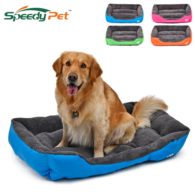 Pet Dog Bed Warming Dog House Soft Material Pet Nest Candy Colored Dog Fall and Winter Warm Nest Kennel For Cat Puppy 4 Colors