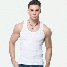 цены на Casual Men's O-Neck Top Summer Men's Bodybuilding Sleeveless Vest Gilet Fitness Wear Men's Men's Fitness Wear  в интернет-магазинах