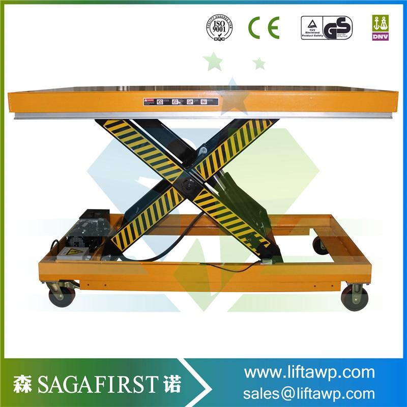 New Production Manual Operation Vertical Lift Platform
