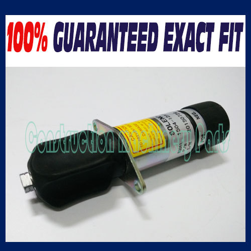 Free fast delivery! NEW 1504-12A2U1B1S1 307-2546 12V Shutdown Stop Shutoff Solenoid Valve for Woodward 3924450 2001es 12 fuel shutdown solenoid valve for cummins hitachi