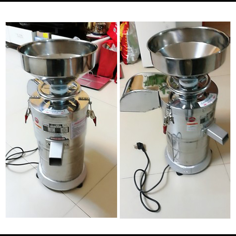 Home Appliances Copper Power Electric Grinding Machine Grinding Machine Soybean Milk Stone Home Commercial Rice Rolls Mill Grinding Bean Curd Ma