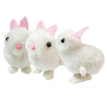 kids Toy New Infant Child Toys 1Pic Chick and Bunny Hopping Wind Up Soft Easter Rabbit Chick toys for baby children classic mini clockwork animal cock chick children wind up kids educatinal high imitation chick toys wind up toy