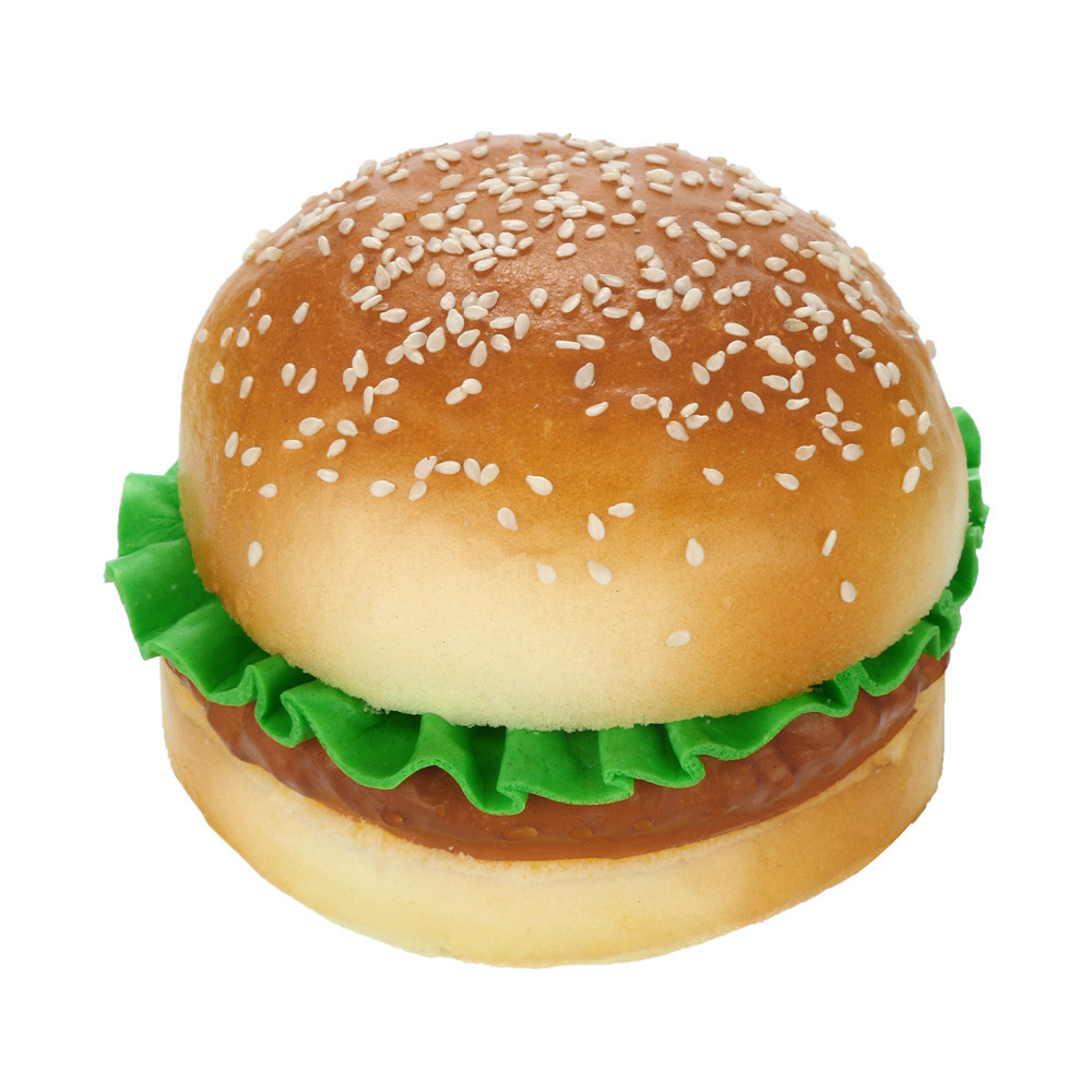 Toys Relief-Toy Scented Hamburger Stress Slow Rising Squishies Kids Collectionz04 Sesame