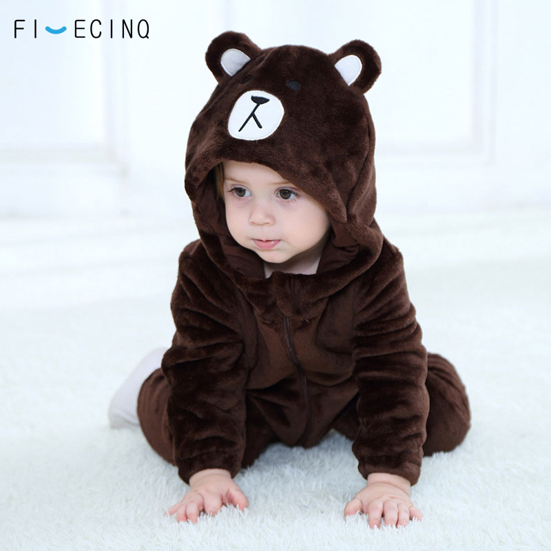 eb315d63d Detail Feedback Questions about Brown Kigurumi Baby Animal Bear ...