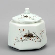 Longquan celadon tea pot Hand made ceramic tea set fittings large Pu'er sealed jar стоимость