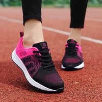 ZHENZU femmes chaussures de Sport femme marque baskets femme chaussures de course respirant antidérapant chaussures plates