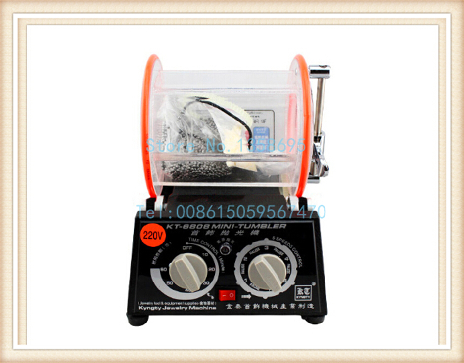 Capacity 3 Kg Drum Polishing Machine, Jewelry Rotary Tumbler, Tumbling Machine, Mini-Tumbler, Jewelry Tools & Equipment