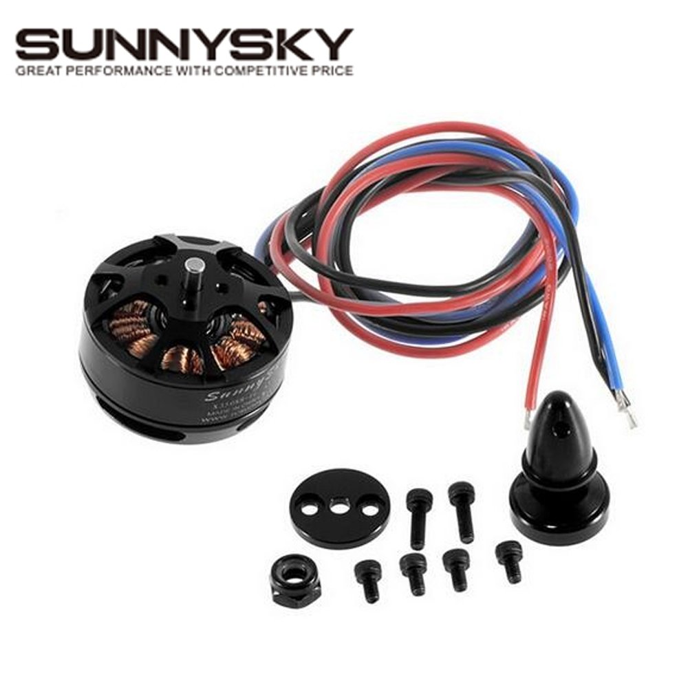 1pcs SUNNYSKY X3508S X3508S 380KV 580KV 700KV 4S 1.5kg 200W Brushless Motor for Multi-rotor copter