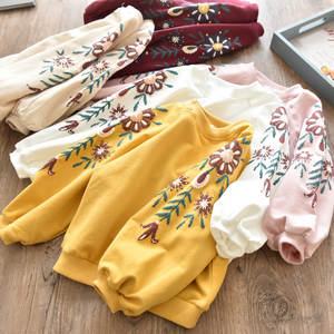 Children Hoodies Sweater T-Shirt-Clothes Long-Sleeves Clearance Autumn Baby-Girls Kids