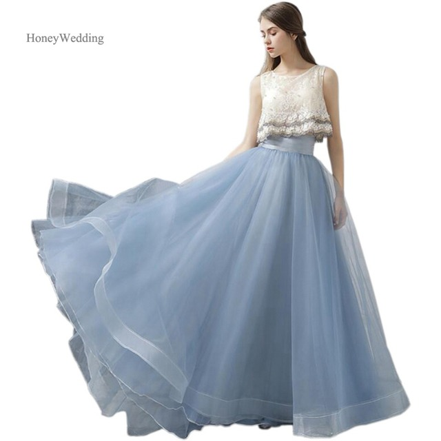 ffca68124 Fashion Ruffles Women Skirt Pleated Organza Maxi Long Prom Skirt Cheap  Falda Tul Mujer Faldas Largas-in Skirts from Women's Clothing & Accessories  on ...