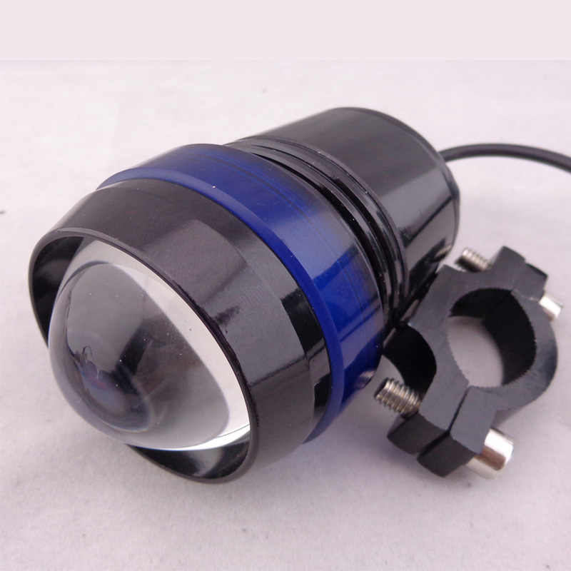 1Pcs Motorcycle U3 LED Headlight 12V Motorbike 30W 1500lm Spotlight fog light head lamp Offroad ATV DRL Driving auxiliary Lamps