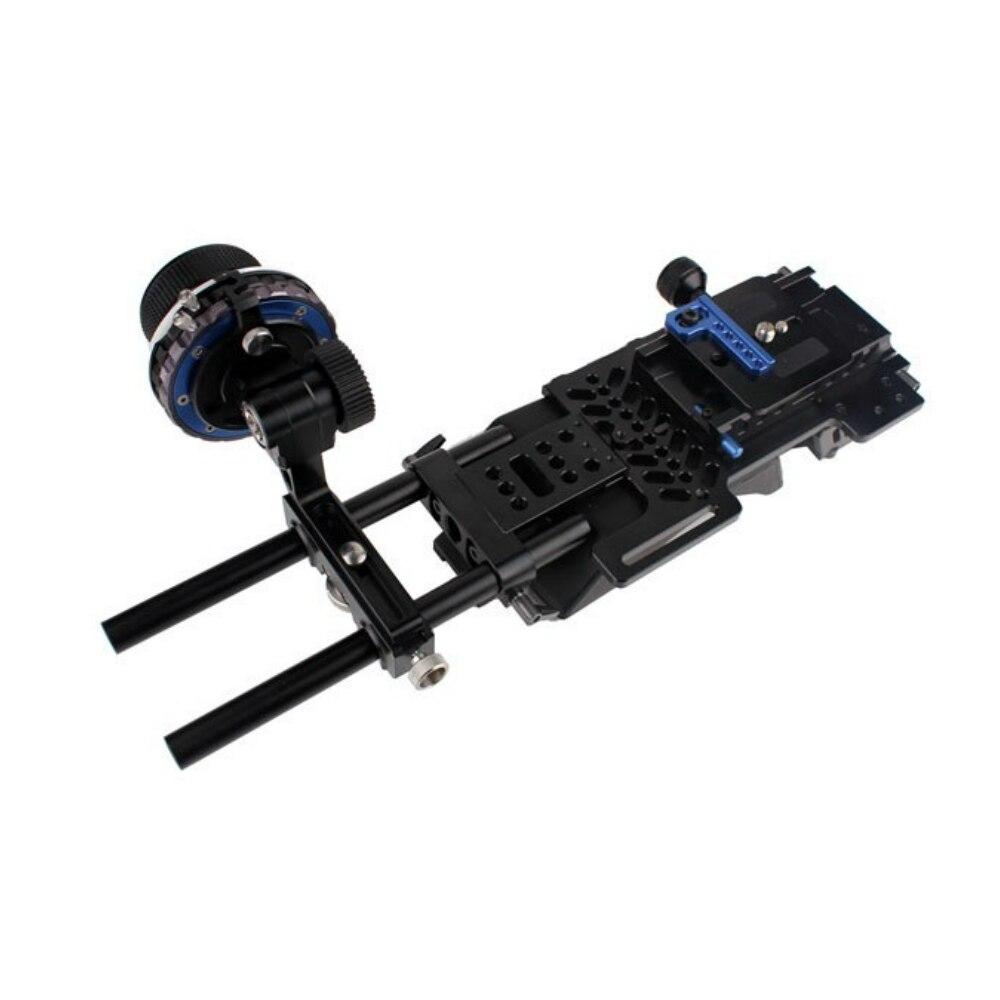 Tilta ff t03 a/b Приборы непрерывного изменения фокусировки камеры комплект W/Жесткий стоп + BS T03 опорная плита плеча площадку для 15 мм Rail система