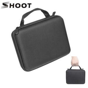 Image 1 - Atirar m/s tamanho eva caso portátil para gopro hero 9 8 7 5 sessão sjcam sj4000 para xiaomi yi 4k ação câmera coleção caixa de montagem