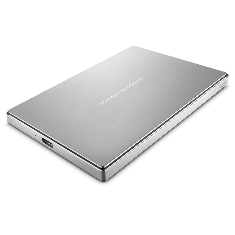 Seagate LaCie Porsche Design P9227 USB-C/Type-C 1TB 2TB 4TB Portable Hard Drive 2.5 External HDD for PC MAC 100% 0riginal 3 5 usb3 0 4tb lacie porsche p9233 9000385