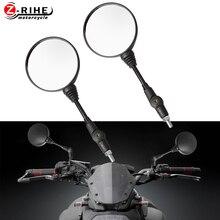 universal folding motorbike side rearview mirror 8mm 10mm FOR YAMAHA XJR1300 XJ6 V-max MT-01 MT-03 TDM900 FZ1 FZ6 YBR V-Strom