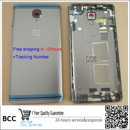 100% Original for Oneplus 3 A3000 A3003 Back Cover Back Battery Housing Door with side button+sim card tray+camera glass lens