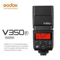 GODOX V350F ttl вспышки Speedlite свет для Fujifilm X T1 X T2 X T10 X T20 X pro2 GFX50s X A3 Камера с Батарея