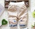 Лето младенцы брюки дети мальчики-младенцы брюки свободного покроя длиной до колен брюки дети в комикс младенческой мягкий брюки 0-2Y