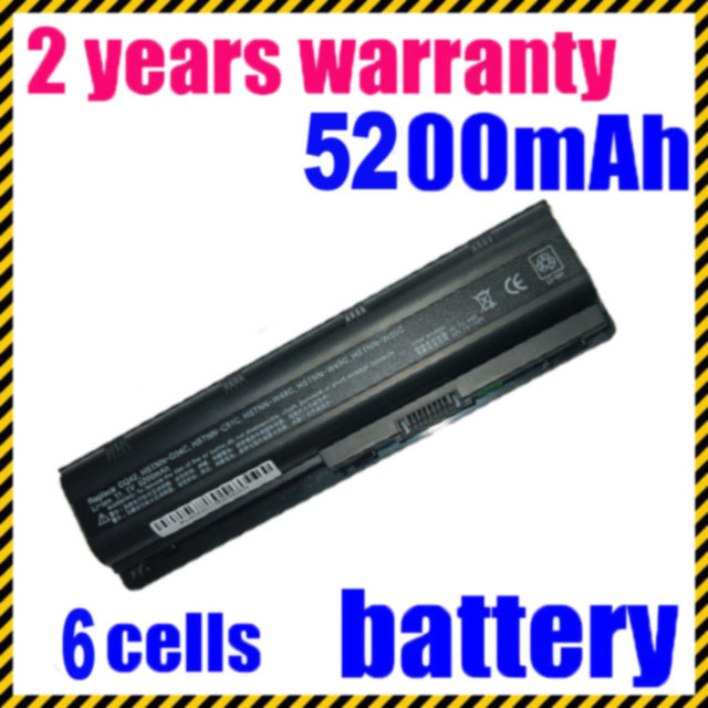 JIGU 593553-001 hstnn-q47c For HP Pavilion DV6 DV5 DV4 G6 G62 G50 G60 G70 MU06 For Compaq CQ42 CQ40 CQ50 Laptop Batteries dv6